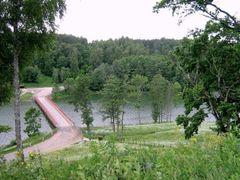 bridge over Asveja lake by <b>Danute</b> ( a Panoramio image )