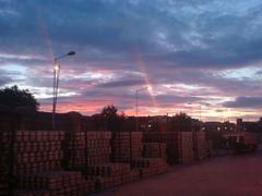 Red sunrise by <b>marekcisak</b> ( a Panoramio image )