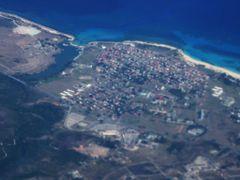 Playa Tarara desde el Aire. by <b>Roberto Lam</b> ( a Panoramio image )