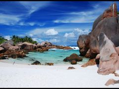 Secluded Pool in Anse Cocos by <b>Sergio Canobbio</b> ( a Panoramio image )