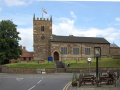 St Giles Church Ollerton o=k by <b>Olive Kirk</b> ( a Panoramio image )