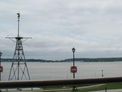 Ship mast off the Promenade by <b>sacoo</b> ( a Panoramio image )