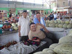 Margilan Market by <b>Alessandro Gaballo</b> ( a Panoramio image )
