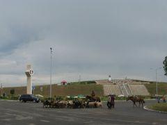 Darkhan traffic jam by <b>Michal.Hugo.Kostal</b> ( a Panoramio image )