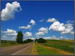 Дорога з Нововолинська до Володимира \ Droga z Nowowolynska do W by <b>Leo N</b> ( a Panoramio image )