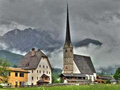 Maria Alm bei Regen (2009) by <b>Gernot Baur</b> ( a Panoramio image )