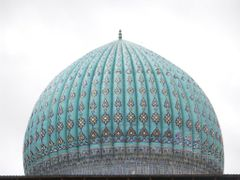 Hazrat Khoja Ahmed Yasavi Mausoleum. c1390 by <b>milusiddique</b> ( a Panoramio image )