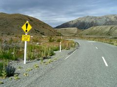 On the gravel road on east Tekapo lakeside by <b>Tomas K?h?ut</b> ( a Panoramio image )