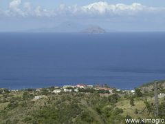 Redonda and Nevis from Garibaldi Hill, Montserrat by <b>www.kimagic.ca</b> ( a Panoramio image )
