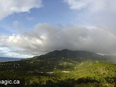 Rainbow over the Montserrat by <b>www.kimagic.ca</b> ( a Panoramio image )
