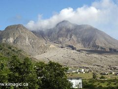 Soufriere Hills Volcano and Plymouth, Montserrat by <b>www.kimagic.ca</b> ( a Panoramio image )