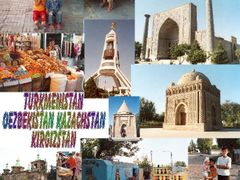 Turkmenistan Uzbekistan Kazachstan Kirgizstan by <b>John de Crom</b> ( a Panoramio image )