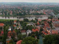 GER Dresden Loschwitz-Oberloschwitz Schwebebahn [Elbe] HYPERpano by <b>KWO Tsoumenis</b> ( a Panoramio image )