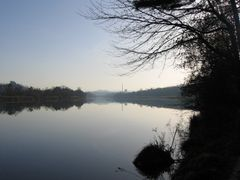 Aare river, Wildegg by <b>mars-moewi</b> ( a Panoramio image )
