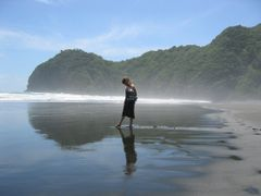 Piha Beach by <b>Denis Campbell</b> ( a Panoramio image )
