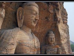 Buda, Yungang Caves, China by <b>belisarios</b> ( a Panoramio image )