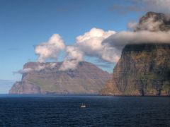 Trollanes, Faroe Islands by <b>Frank Pustlauck</b> ( a Panoramio image )