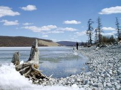 Lake Hovsgol by <b>mottoth</b> ( a Panoramio image )