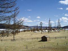 Turist ger camp at Lake Hovsgol by <b>mottoth</b> ( a Panoramio image )