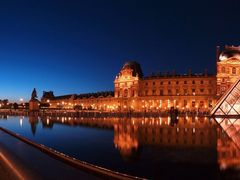 Musee du Louvre Evening Panorama View by <b>SEIMA</b> ( a Panoramio image )