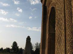 Uzgen, mausoleum (Qarakhanid dynasty, XII c.) by <b>igor_alay_2</b> ( a Panoramio image )