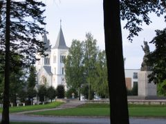 "Rezekne. Virgin of Anguish Roman Catholic Church and ""Vienoti La by <b>vipe</b> ( a Panoramio image )"