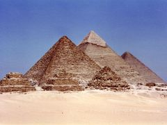 The Pyramids At Giza - Egypt by <b>Scott Galpin</b> ( a Panoramio image )