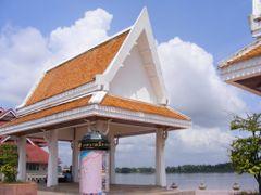 Nong Khai Map Pole at Mekong River   by <b>pr8ngkiet</b> ( a Panoramio image )