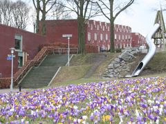 Flowers, stairway and playground; Prins Willem Alexanderlaan-Ame by <b>Carl030nl</b> ( a Panoramio image )