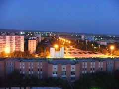 Red House and the area in the night by <b>узбек</b> ( a Panoramio image )