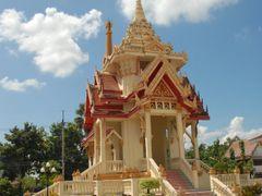 Crematorium at Wat Bodhisomphon, Udon Thani, Thailand by <b>JohnMuzi</b> ( a Panoramio image )