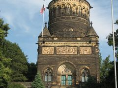 Pres. Garfield Memorial, Lakeview Cemetery, Cleveland   by <b>htabor</b> ( a Panoramio image )