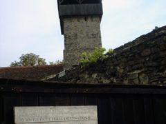 Calnic Fortess Gate by <b>George Alexandru Marinescu</b> ( a Panoramio image )