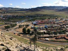 ULIASTAI TOWN by <b>J. Batbaatar</b> ( a Panoramio image )