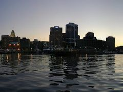 Halifax from the Bay (Sunset panorama) by <b>manuamador</b> ( a Panoramio image )