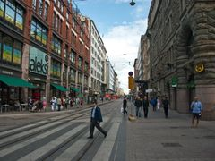 Summertime on the streets of Helsinki, Finland by <b>Alien_69</b> ( a Panoramio image )