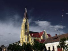 Deta Church by <b>© Andy Loghin</b> ( a Panoramio image )