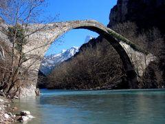 A stone bridge near Konitsa (northern Greece) by <b>Caspar Bichsel</b> ( a Panoramio image )
