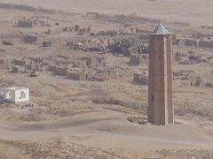 View of historical minart in Ghazni  by <b>Emal-Rahimi</b> ( a Panoramio image )