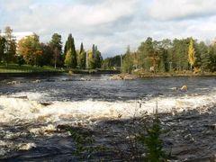 Kajaani. Koivukosken voimalaitos by <b>Bagrov Petr</b> ( a Panoramio image )