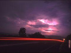 Carretera de Managua a Leon. En el Km 47 con la tormenta al fond by <b>Jose Antonio Rojo</b> ( a Panoramio image )