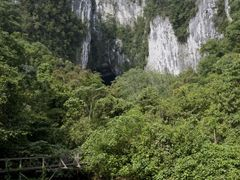 Entrance to Deer Cave, Mulu National Pak, Sabbah, Borneo by <b>Thomas Bridle</b> ( a Panoramio image )