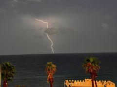 Storm on the Sea of Monastir - Ahmed M. - 2009 by <b>Ahmed-777-</b> ( a Panoramio image )