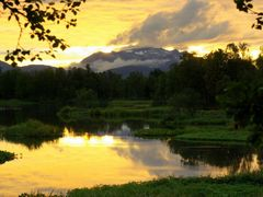 Evening light over Prestvannet lake by <b>Snemann</b> ( a Panoramio image )