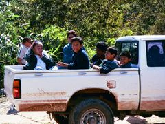 Kids and pickup, San Ignacio by <b>scoand</b> ( a Panoramio image )