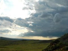 Maturing Thunderstorm Over Eastern Montana Badlands by <b>kermynator</b> ( a Panoramio image )