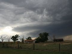 Amarillo, House Under the Storm by <b>by niro</b> ( a Panoramio image )