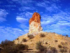 Chambers Pillar  by <b>demon41</b> ( a Panoramio image )