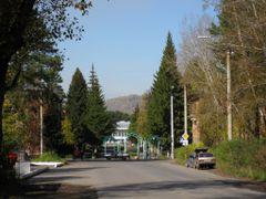 "На подъезде к посёлку ""БОР"" by <b>Kobzar Kostyantyn (Ukraine)</b> ( a Panoramio image )"