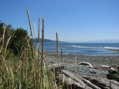 Pacific breakers at River Jordan, not to be confused with Jordan by <b>frtzw906</b> ( a Panoramio image )